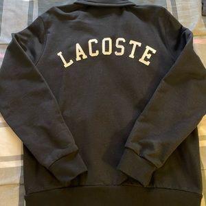 Lacoste Zip Up Fleece Jacket Sz L - Tags attached